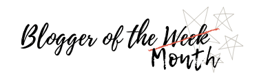Blogger of the Month